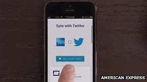 Pay-by-tweet service offered by Amex