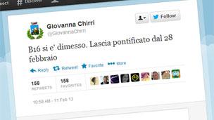 Giovanna Chirri's tweet