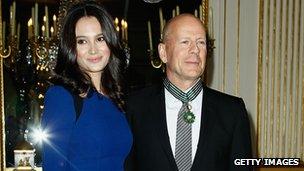 Bruce Willis and his wife Emma Heming-Willis