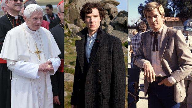 Pope Benedict, Benedict Cumberbatch, Dirk Benedict