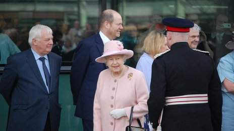 The Queen at Salford