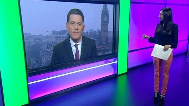 Nel interviews David Miliband