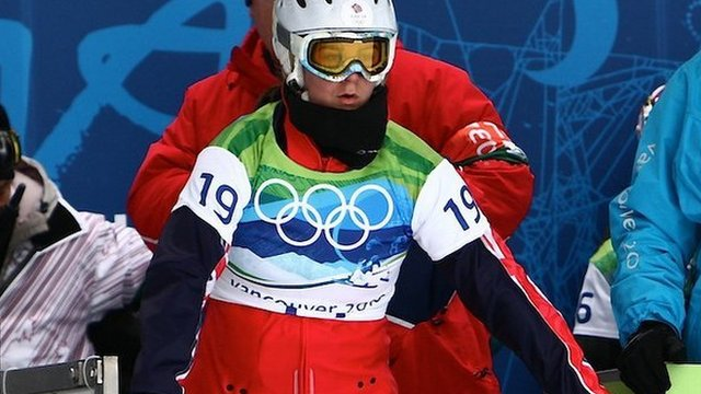 Zoe Gillings at the Winter Olympics in Vancouver