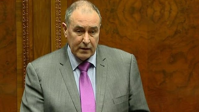 Sinn Fein's Mitchel McLaughlin