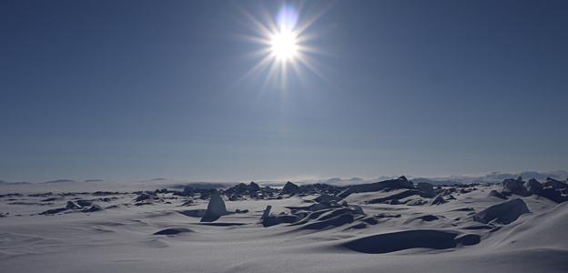 Arctic icescape