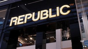 Republic chain enters administration