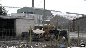 A general view of Peter Boddy slaughterhouse in Todmorden, West Yorkshire,