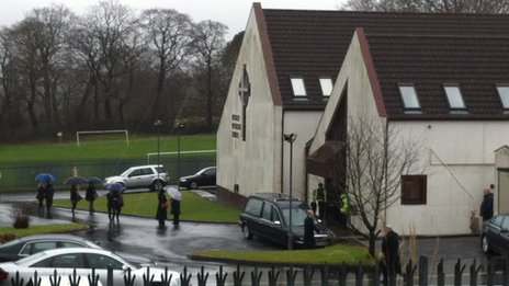 Mossley Methodist Church in Newtownabbey