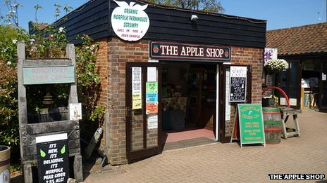 The Apple Shop, Wroxham Barns, Norfolk