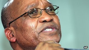Jacob Zuma (September 2006