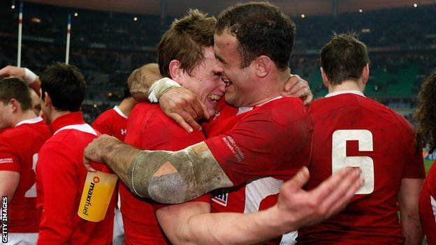 Jamie Roberts and Jonathan Davies