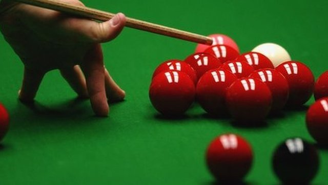 bbc sport snooker