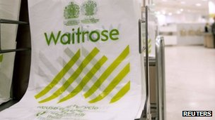 Waitrose shopping bags