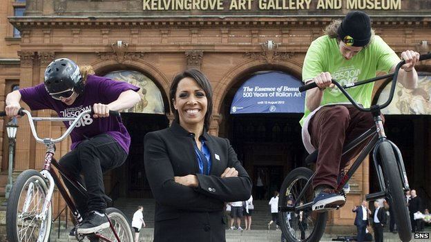 Kelly Holmes backs Glasgow's bid