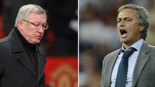Sir Alex Ferguson & Jose Mourinho