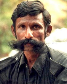Veerappan seen in this undated file photo.
