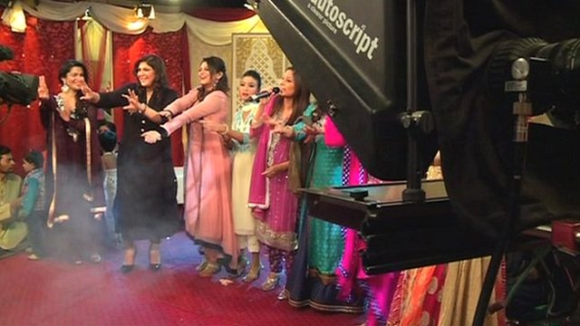 Televised wedding in Pakistan