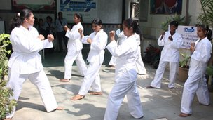 Self-defence classes for drivers with Viira Cabs in Mumbai