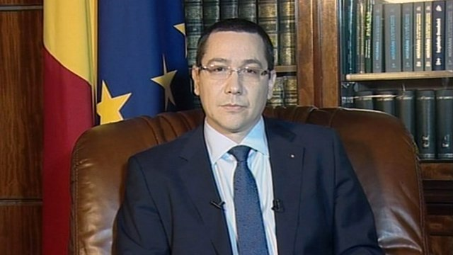 Romanian Prime Minister, Victor Ponta