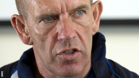 Kilmarnock boss Kenny Shiels