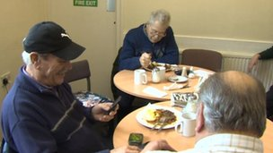 Older men's lunch club