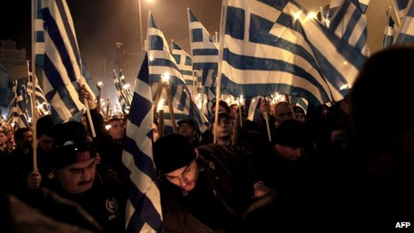 Golden Dawn supporters