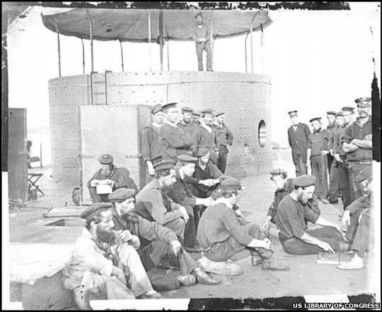 The crew of the USS Monitor