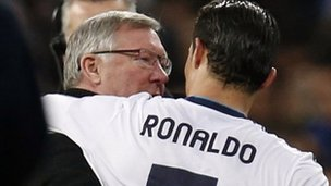 Sir Alex Ferguson &amp; Cristiano Ronaldo