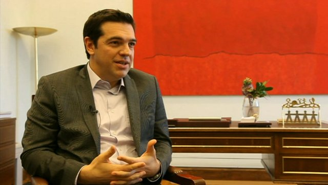Syriza leader Alexis Tsipras 