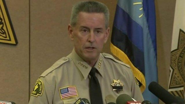 San Bernardino County Sheriff John McMahon