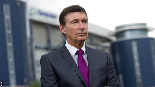 Former Rangers chief executive Gordon Smith