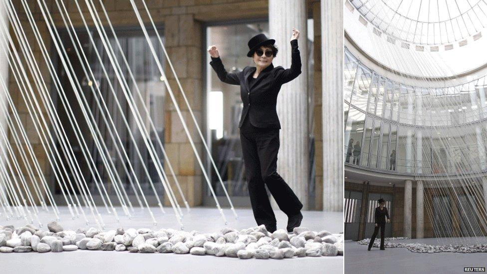 Yoko Ono at Schirn Kunsthalle