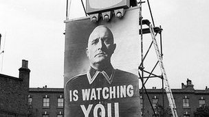 Big Brother poster from the 1965 BBC TV production