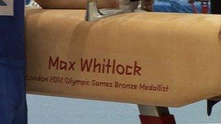 Max Whitlock pommel horse