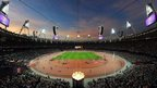 Olympic Stadium in London