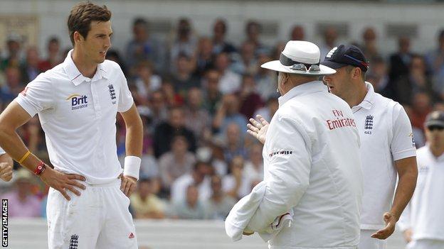 England's Steven Finn