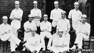 Eton cricketers 1889