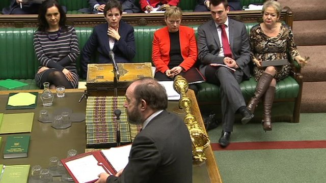 David Heath faces the Labour frontbench