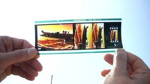 35mm film print