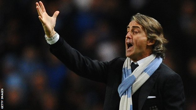 Manchester City&#039;s Roberto Mancini