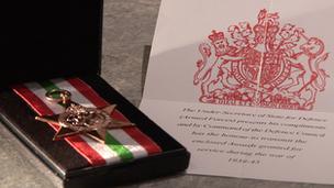 Italy Star medal