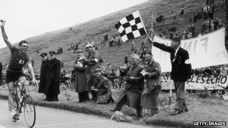 Ray Booty winning gold at Cardiff&#039;s Empire Games, 1958