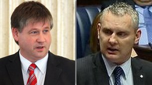 Basil McCrea and John McAllister