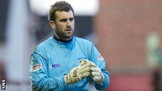 Kilmarnock goalkeeper Cammy Bell