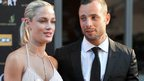 Reeva Steenkamp and Oscar Pistorius