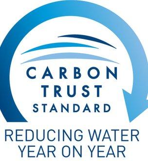 Carbon Trust Water Standard logo (Image: Carbon Trust)
