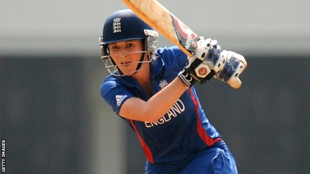England women&#039;s captain Charlotte Edwards