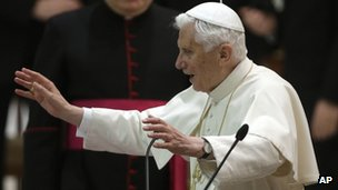 Pope Benedict XVI - 14 February