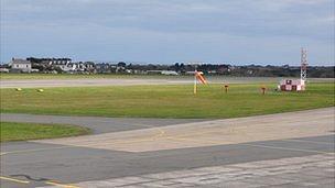 Guernsey Airport runway