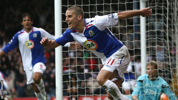David Bentley scores for Blackburn